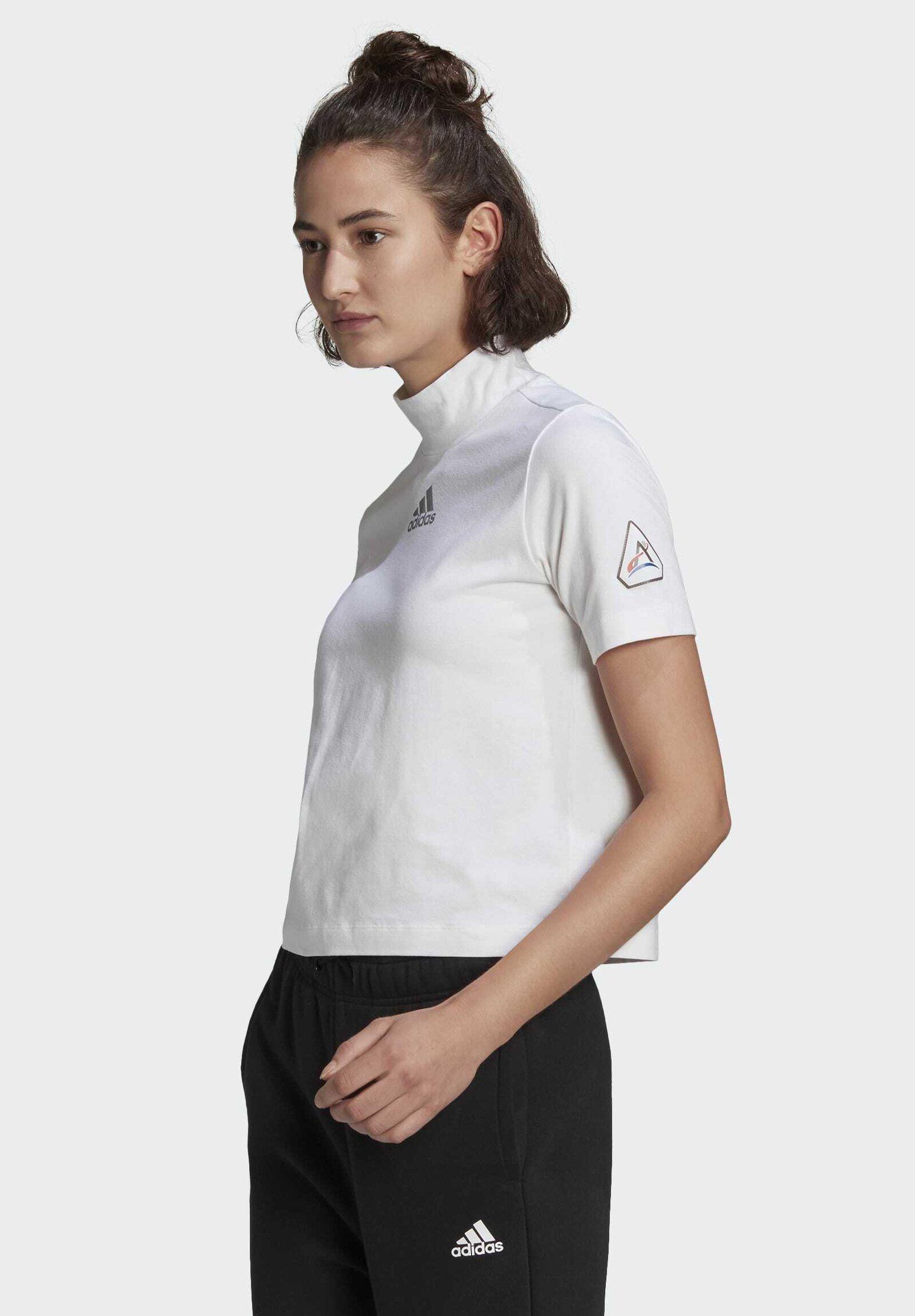 Women SPACE CROPPED - Print T-shirt