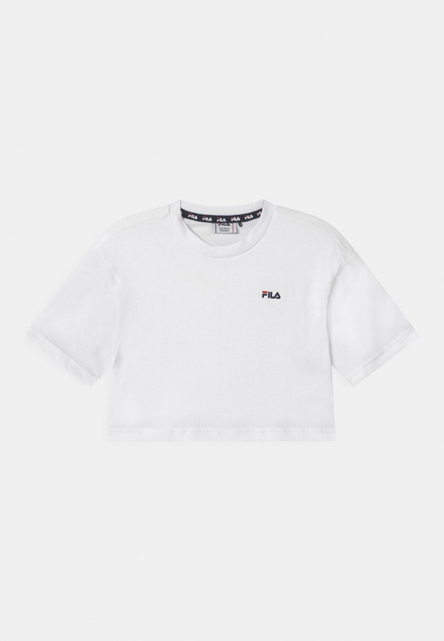 ANNA CROPPED  - T-shirt imprimé - bright white