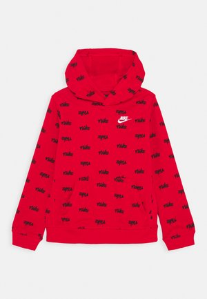 SCRIPT - Hoodie - university red/white