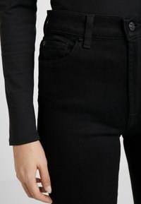 7 for all mankind - FLARE - Flared Jeans - black - 6