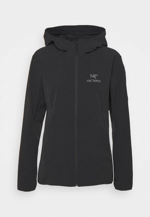 GAMMA SL HOODY WOMENS - Outdoor jacket - black