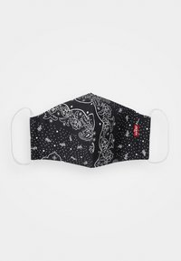 Levi's® - REUSABLE BANDANA FACE COVERING UNISEX 3 PACK - Stoffen mondkapje - blue/black/red - 2