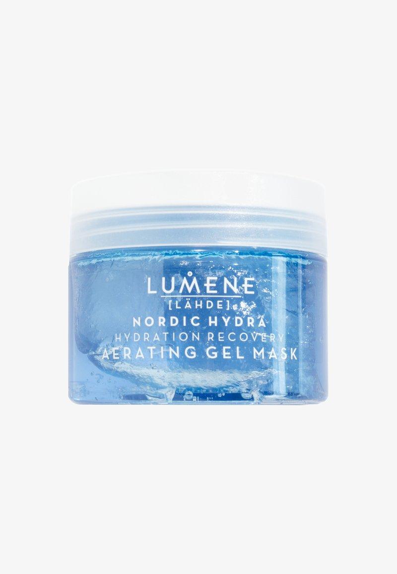 Lumene - NORDIC HYDRA [LÄHDE] HYDRATION RECOVERY AERATING GEL MASK - Face mask - -