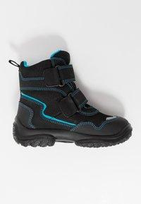 Superfit - SNOWCAT - Winter boots - schwarz/blau - 1