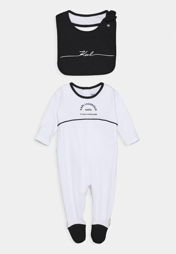 BIB BABY UNISEX - Sleep suit - white/black