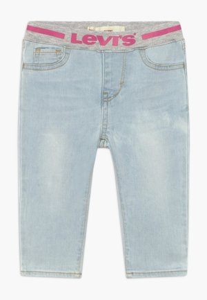 PULL ON SKINNY - Vaqueros pitillo - blue denim