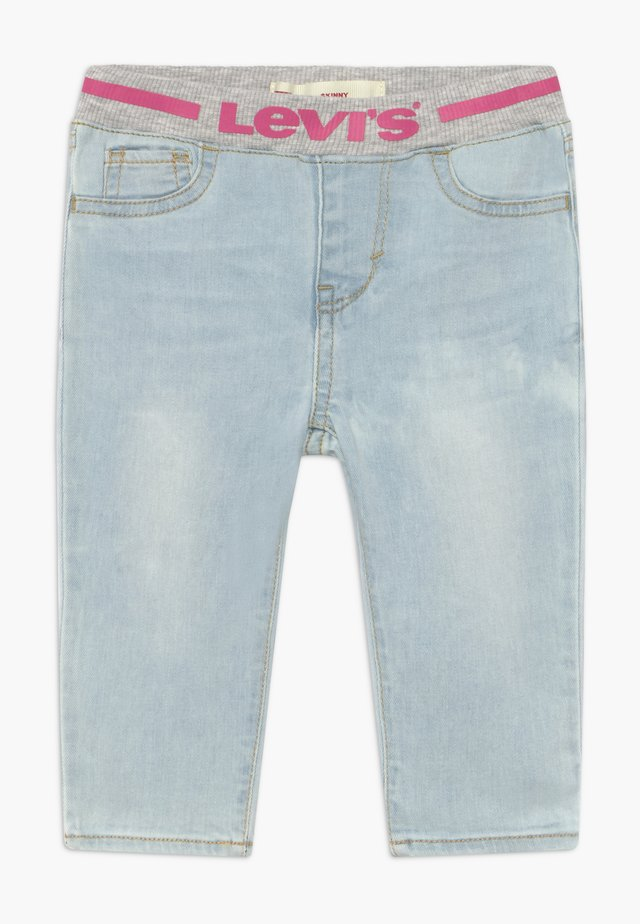 PULL ON SKINNY - Jeans Skinny - blue denim