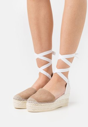 JAVA  - Platform sandals - taupe