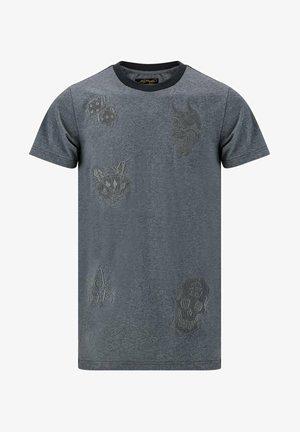 DRAG CLOUD - Basic T-shirt - grey