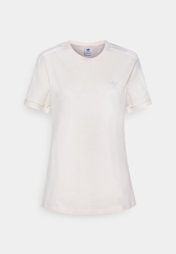 STRIPES TEE - Print T-shirt - off-white