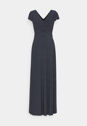 PRINTED MATTE DRESS - Maxi dress - lighthouse navy