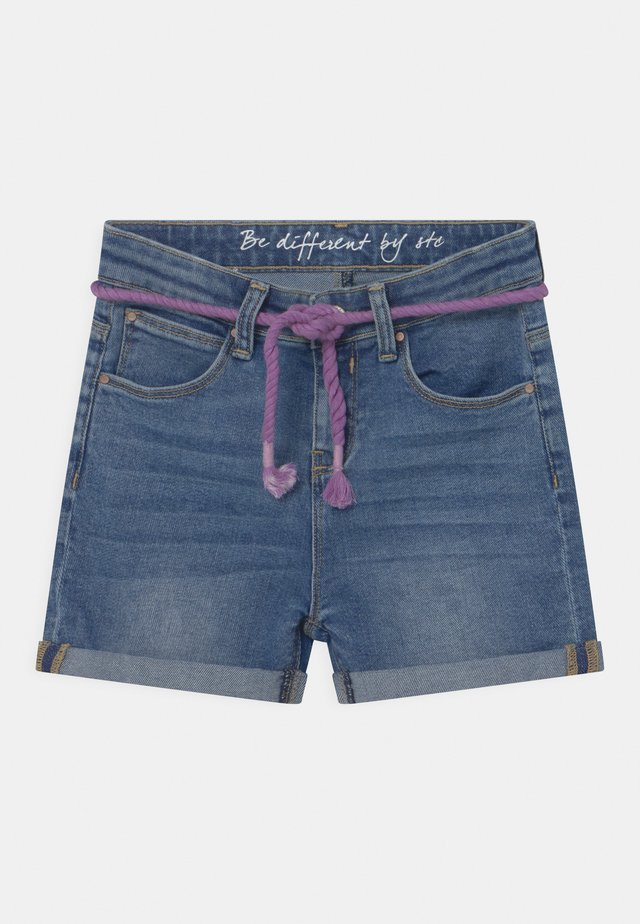 TEENAGER - Jeansshort - light blue denim