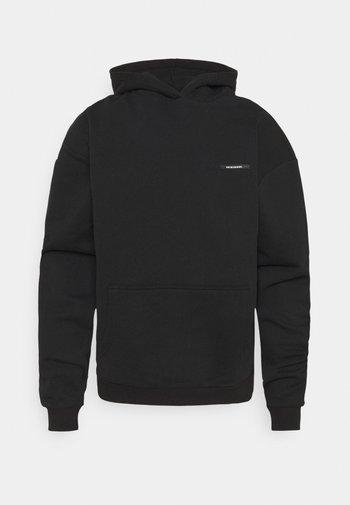WAVES LOGO HOODIE UNISEX - Sweatshirt - black