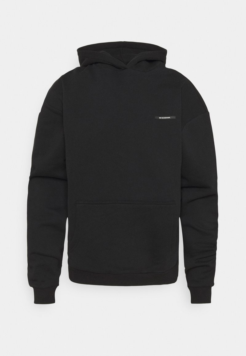 9N1M SENSE - WAVES LOGO HOODIE UNISEX - Sweatshirt - black