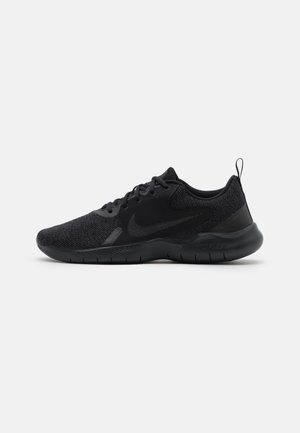 FLEX EXPERIENCE RN 10 - Neutral running shoes - black/dark smoke grey