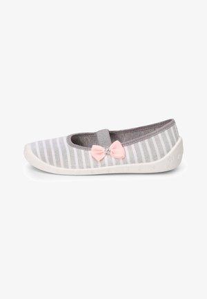 Ballet pumps - melange/white/bow