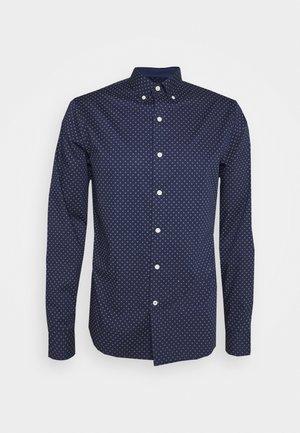 POPLIN PRINT - Shirt - peacoat