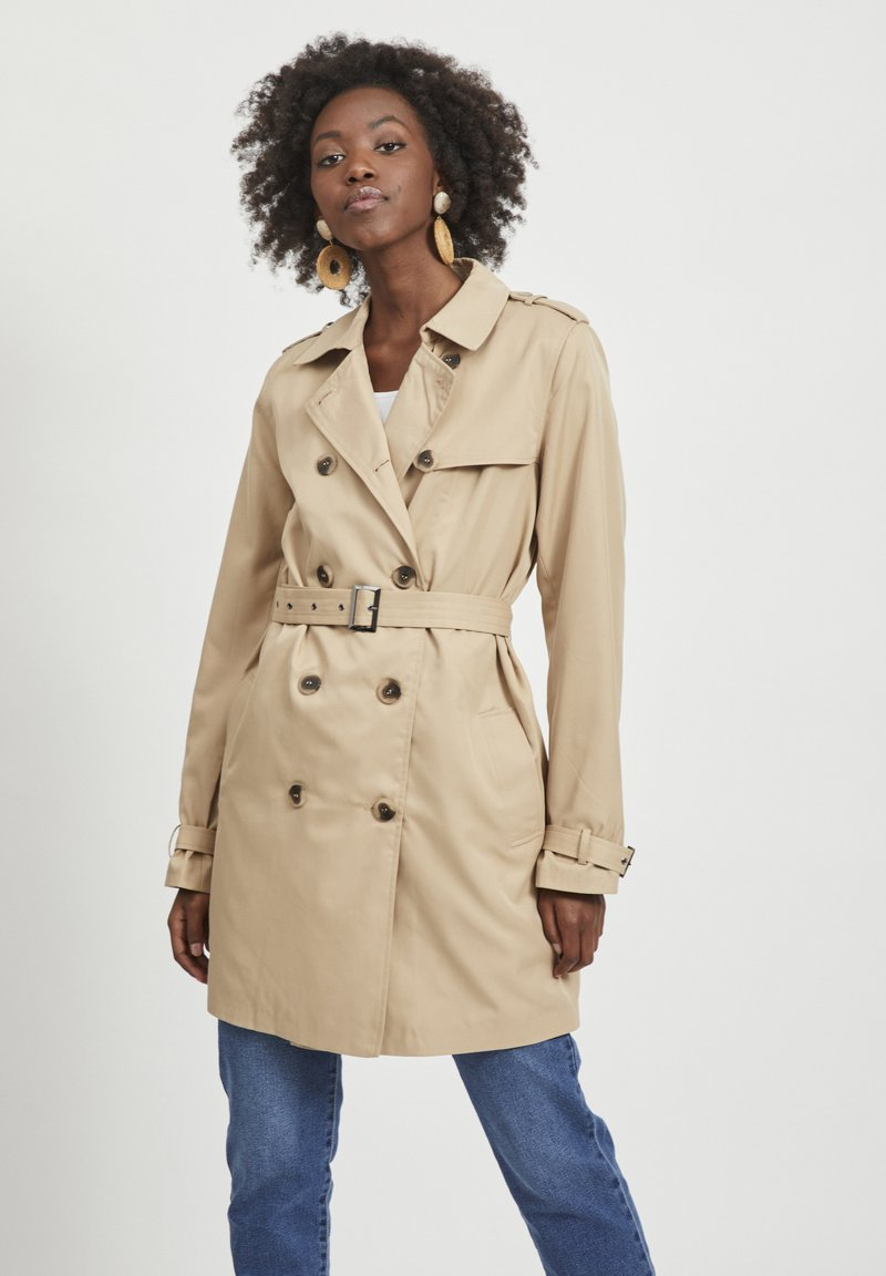 Vila - VIMOVEMENT - Trenchcoat - beige
