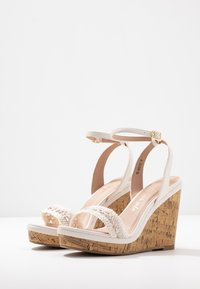 New Look Wide Fit - WIDE FIT PILAR  - Sandály na vysokém podpatku - offwhite - 4