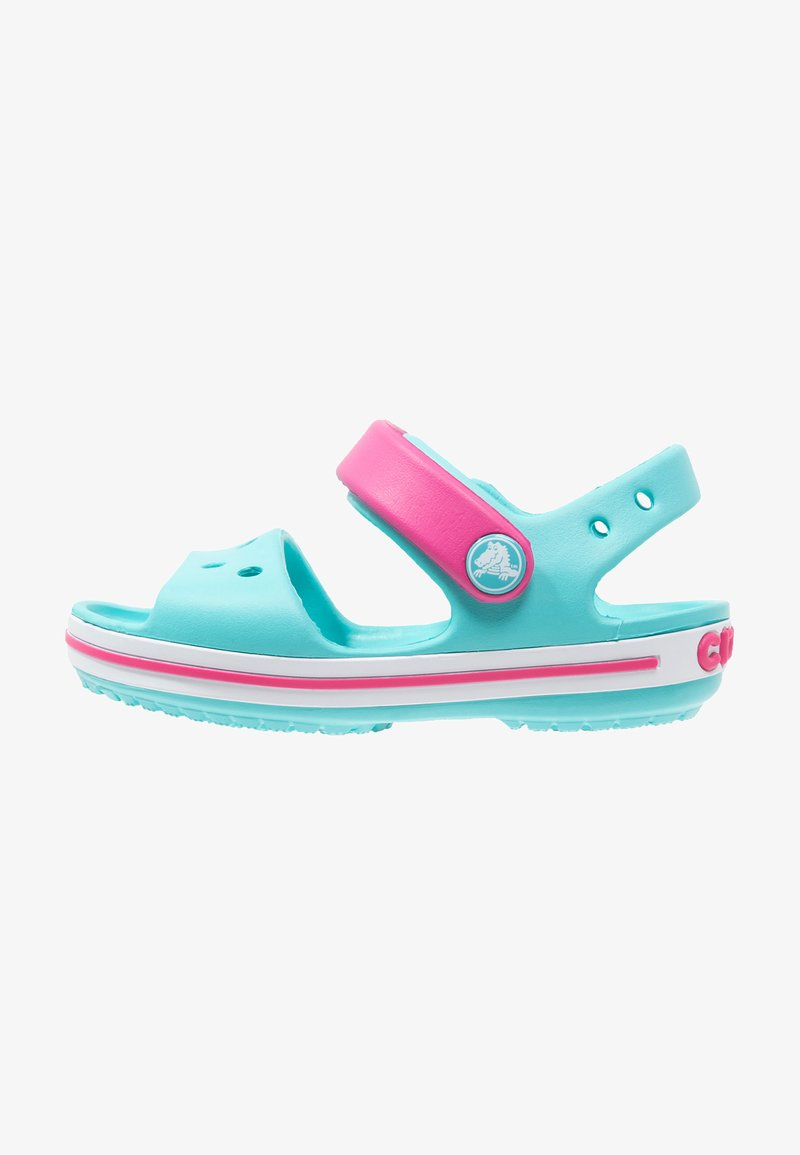 Crocs - CROCBAND KIDS - Pool slides - pool/candy pink