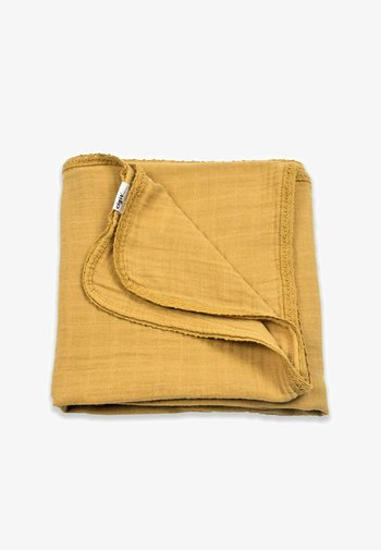 Muslin blanket - mustard yellow