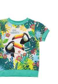 Boboli - T-shirt z nadrukiem - emerald - 2
