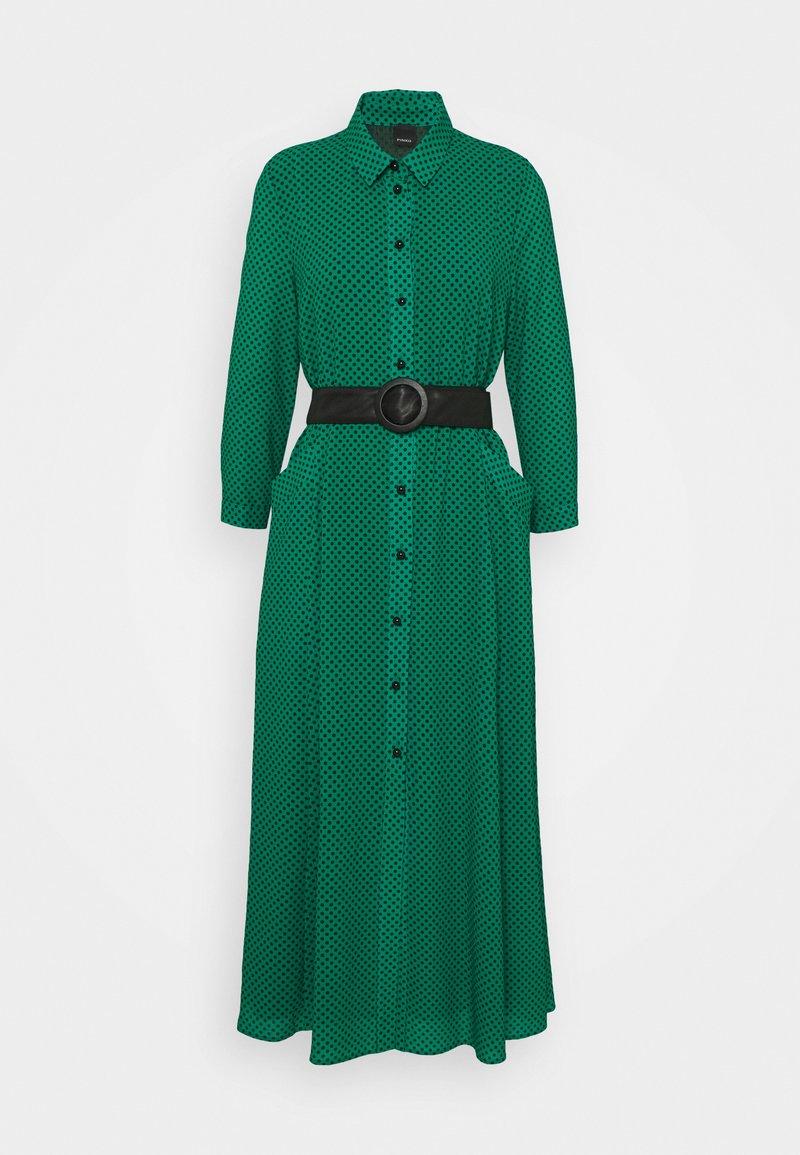 Pinko - MASK ABITO - Maxi dress - verde/nero
