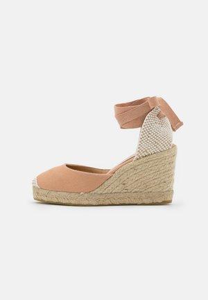 MARMALADE - High heeled sandals - apricot