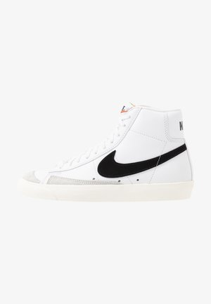 BLAZER MID '77 - Sneakersy wysokie - white/black/sail blanc