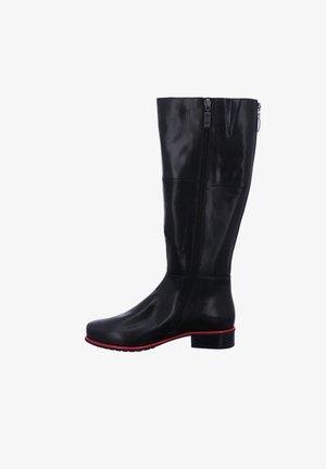CALLA - Boots - schwarz-rot
