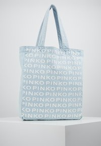 Pinko - RIGIDO - Tote bag - light blue denim - 0