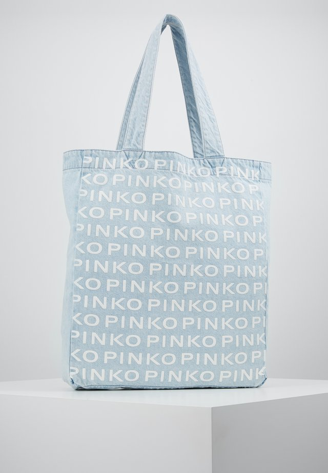 RIGIDO - Shopping bag - light blue denim