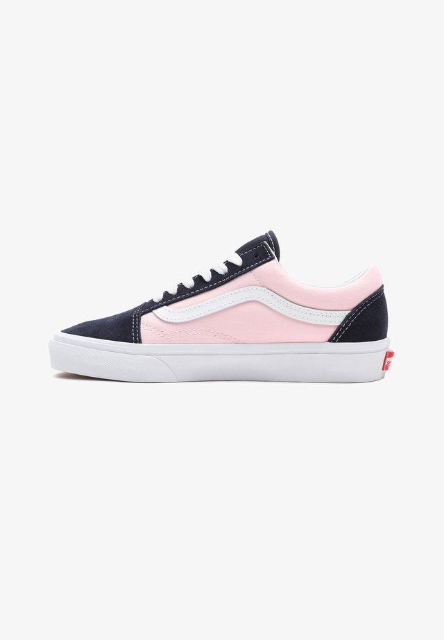 OLD SKOOL - Sneakersy niskie - mottled pink