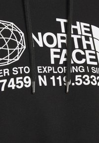 The North Face - COORDINATES CROP DROP HOODIE - Sweatshirt - black - 6