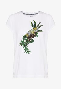 Marc Cain - Print T-shirt - white/black - 4
