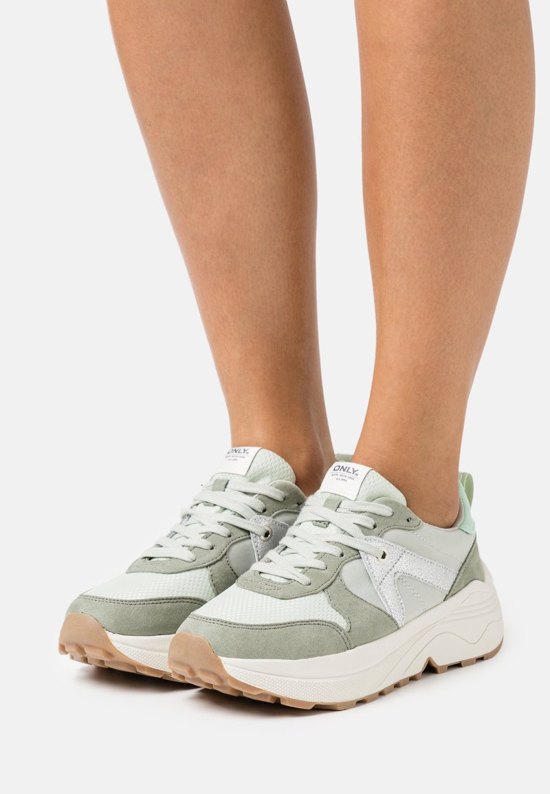ONLY SHOES - ONLSYLVIE - Sneakersy niskie - mint