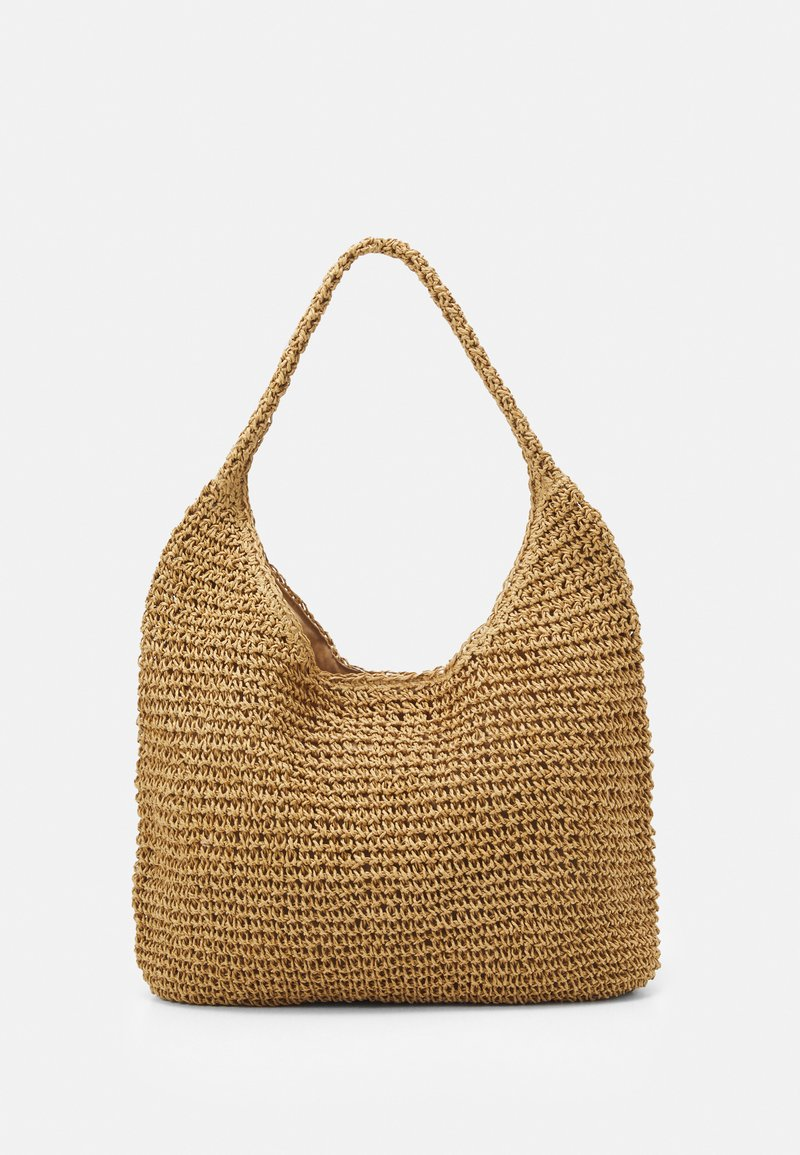Pieces - PCLONGO BAG - Tote bag - nature