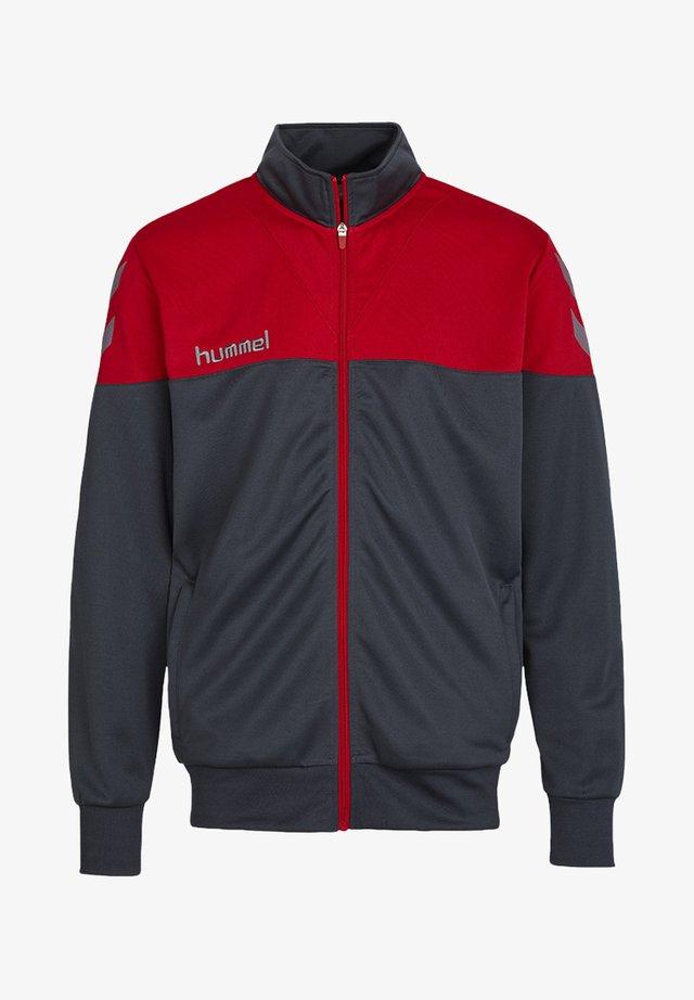 SIRIUS POLY  - Training jacket - dark slate/true red