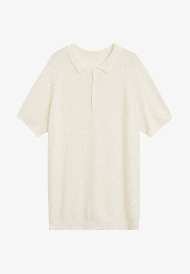 Poloskjorter - weiß