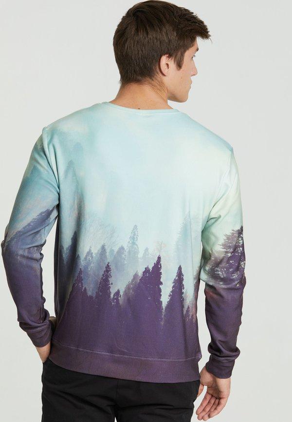 Mr. GUGU & Miss GO OLD FOREST - Bluza - blue/niebieski Odzież Męska MWAP