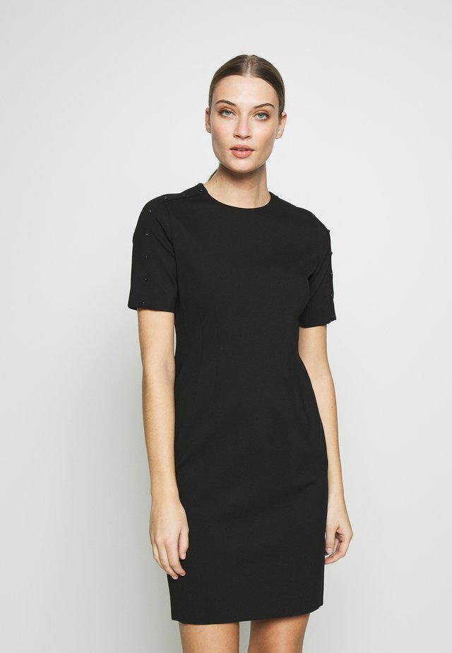 DAKIMA - Shift dress - black
