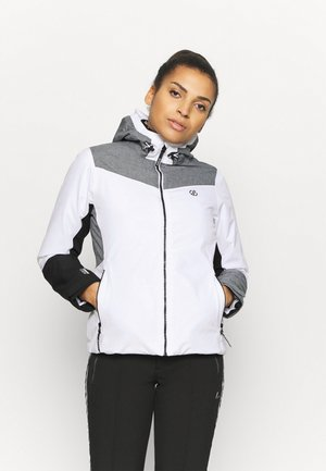 ICE GLEAM JACKET - Skijacke - white/alugrey
