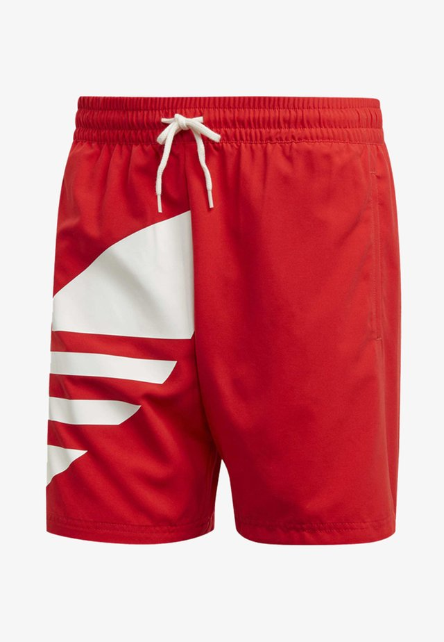BIG TREFOIL SWIM SHORTS - Badeshorts - red