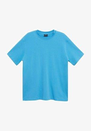 Basic T-shirt - hemelsblauw