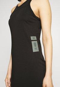 G-Star - MAXI TANK TOP DRESS - Jerseyjurk - dark black - 3