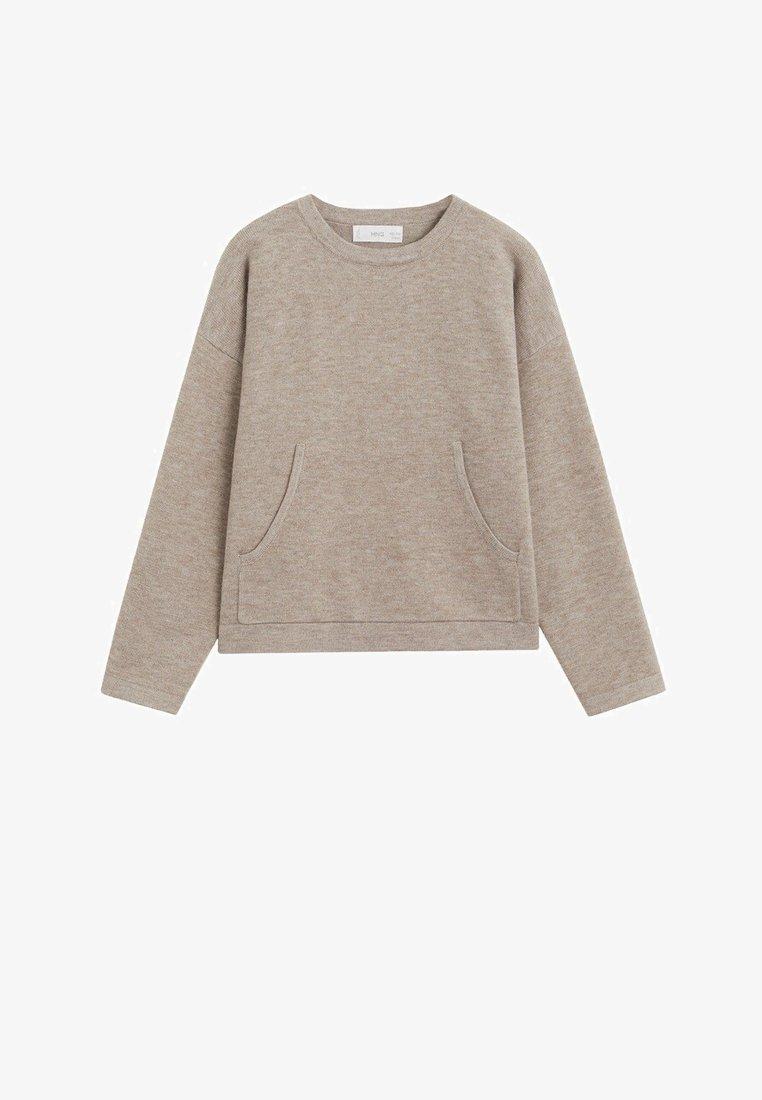 Mango - CORI - Jumper - gris clair/pastel