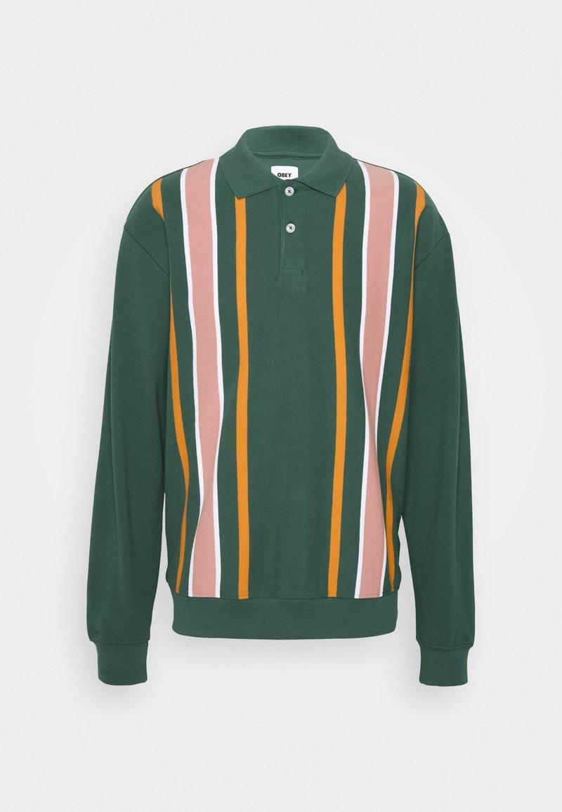 Obey Clothing - JAKE  - Polo shirt - green/multi