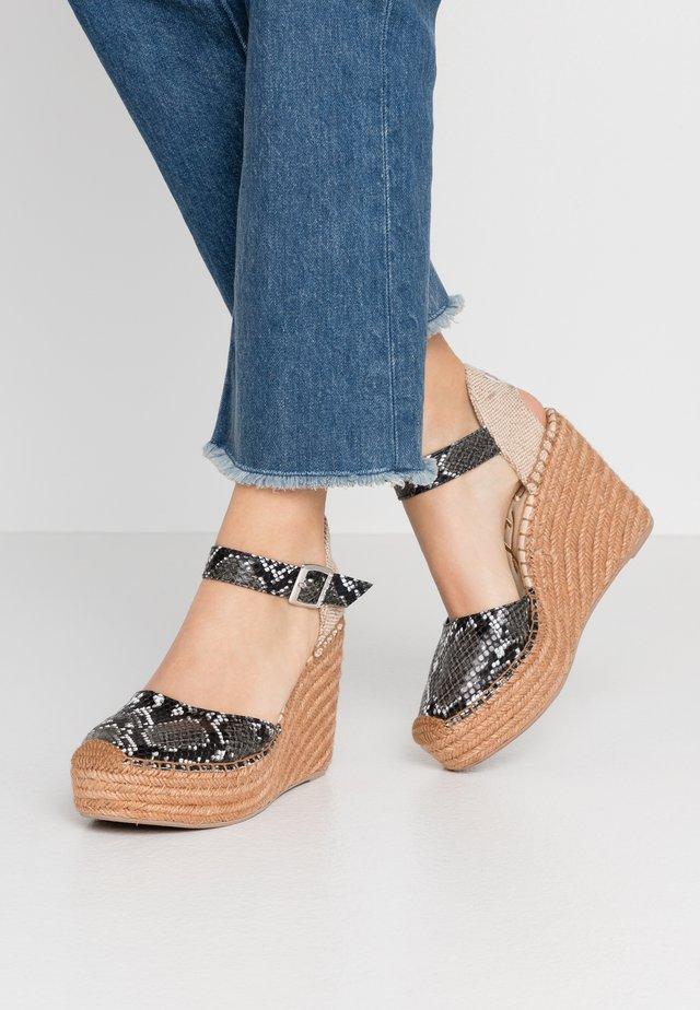 WATTLET - High heeled sandals - grey