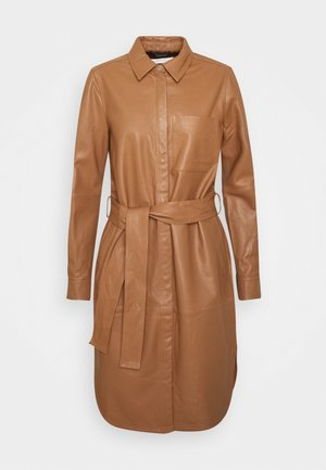 VINGAIW DRESS - Skjortekjole - winter beige