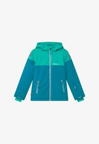 TrollKids - GIRLS HALLINGDAL - Snowboardjakke - light petrol/dark mint/white - 4